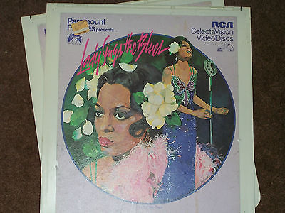 Lady Sings the Blues Videodisc