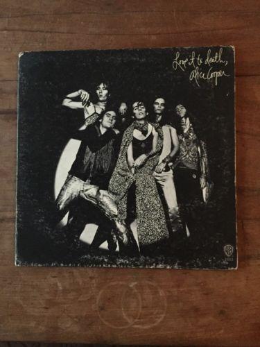 Alice Cooper Love It To Death Original Vinyl Record Album