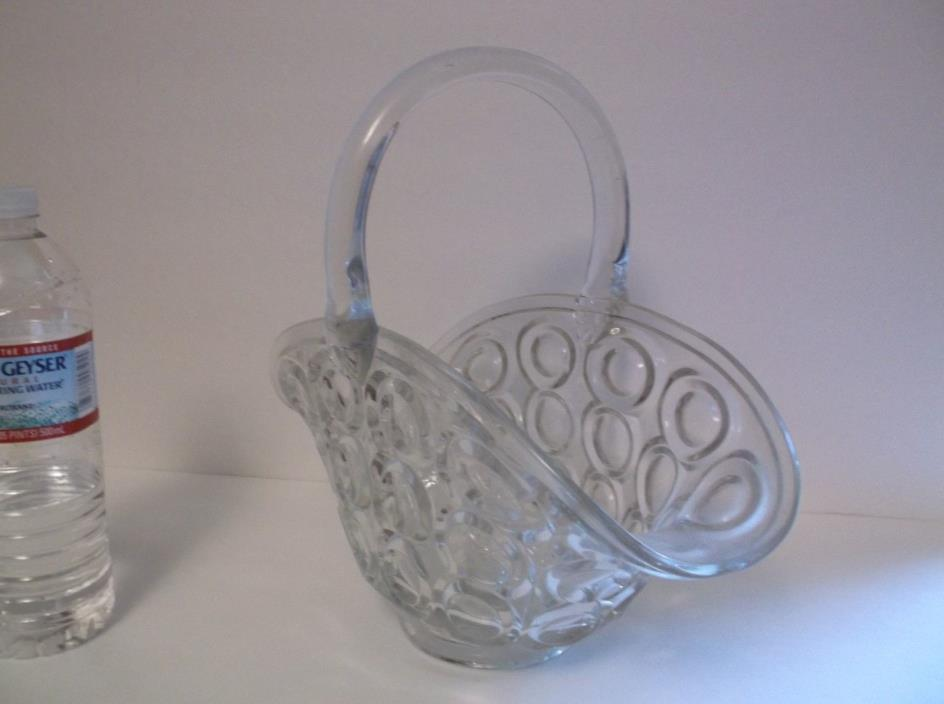 Vintage Glass (Fruit Bowl?) bubbles in glass