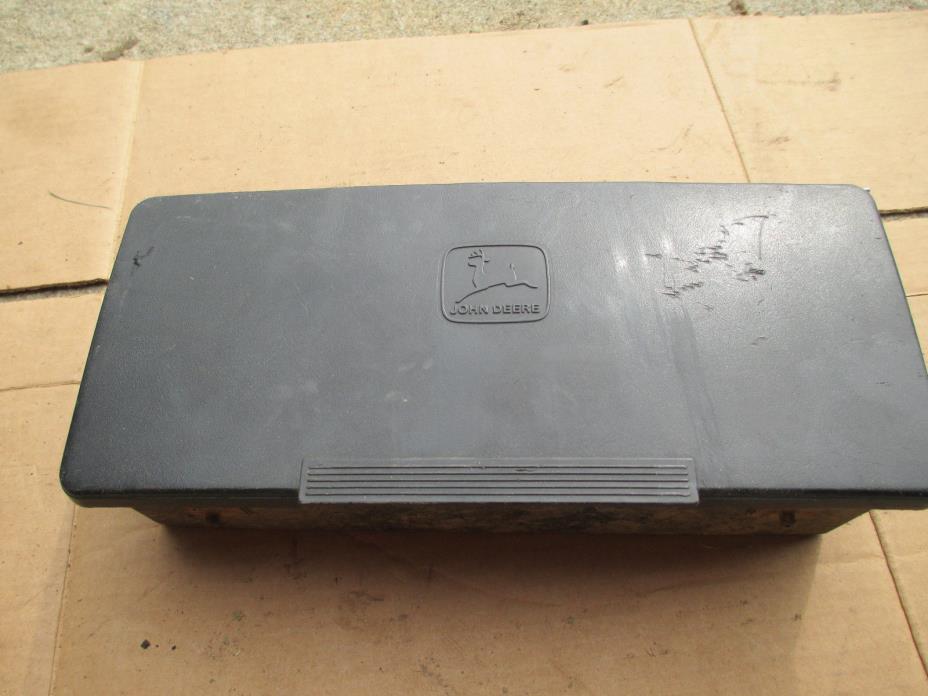 John Deere 445 Tool Box AM131672 F911 F912 F915 F925 F1145 GX345 GX325 GX335