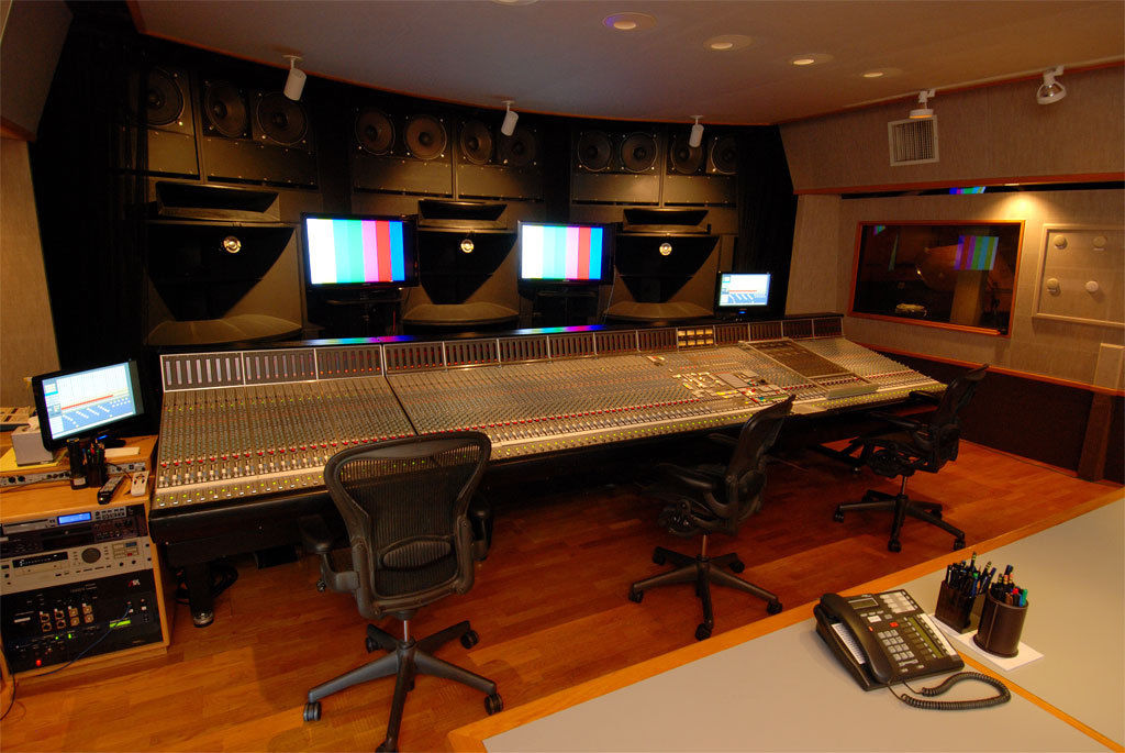 Solid State Logic 9000J 96 Input Console with Eight Channel Film Scoring Section