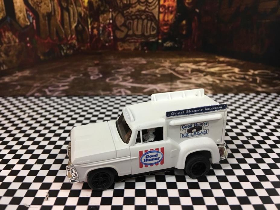 AW autoworld afx Ho slot car Good Humor ice cream truck waterslide decals
