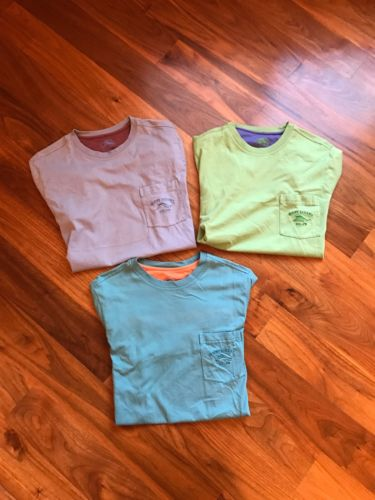 LOT OF 3 TOMMY BAHAMA RELAX T-shirts Mens Large prima Cotton