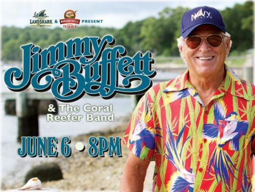 Jimmy Buffett 2 Tickets Orange Beach Wharf Amphitheater 6/6/17