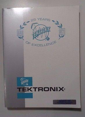 1971 Vintage Tektronix Instruments Catalog 25th Anniversary -Nice!