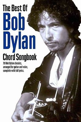 Best of Bob Dylan Chord Songbook by Bob Dylan (English)