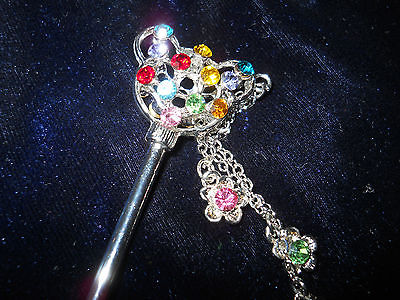 A Crystal Hair Pin 280. Multi Color. A Good Gift for a Girl