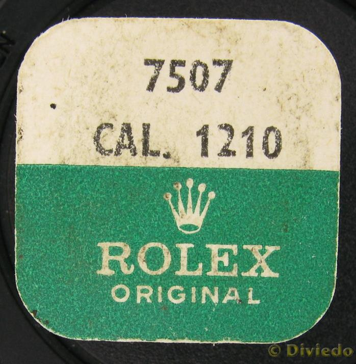 New Factory Sealed Rolex Movement Part Cal.1210-7507,1215 Third Wheel