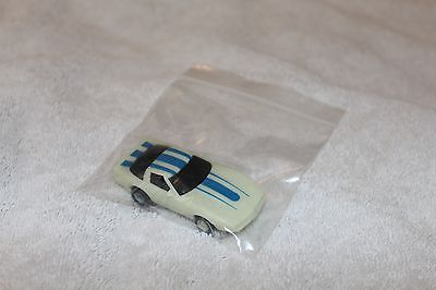 TYCO HOTWHEELS MAGNUM 440X2 440 X2 SLOTCAR 80'S BLUE CORVETTE ELECTRIC RACING