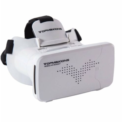 3D VR Glasses,Topmaxions™ 3D Virtual Reality Mobile Phone 3D Movies iPhone, LG..