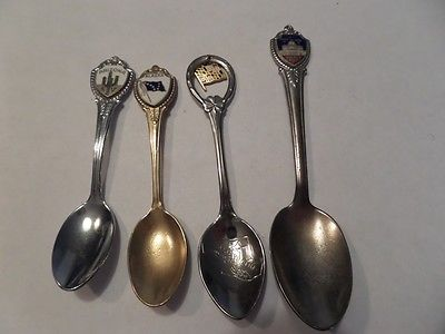 Collector Spoon Lot Maryland, Alaska, Puerto Rico and Arizona