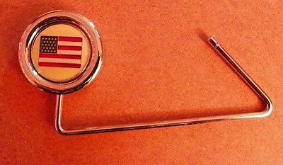 PURSE HANGER ~ US FLAG
