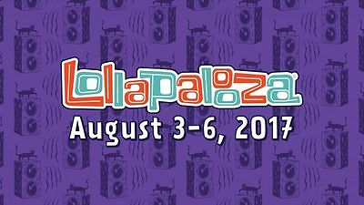 Lollapalooza 2017 *TWO* Collectible Credential 4-day General Admission Tickets