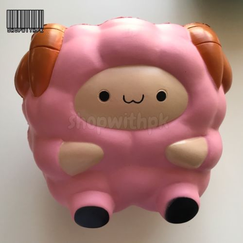 PINK Pop Pop Sheep by Pat Pat Zoo (Slow Rising, Scented, BNIP)