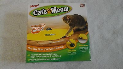 Cats Meow Motorized Wand Cat Toy