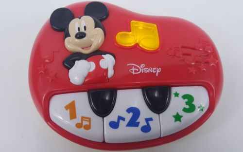 Disney MICKEY MOUSE CLUBHOUSE My First Toddler PIANO *FAST SHIPPING*