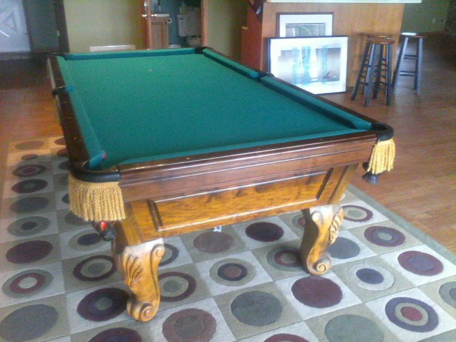 3 piece Marble, Play Master, Regency, 8', Renaissance,  Pool Table,
