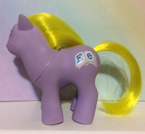 ~MY LITTLE PONY G1**Baby Alphabet**Playschool Baby Pony (MINT) MLP~Vintage U.K.