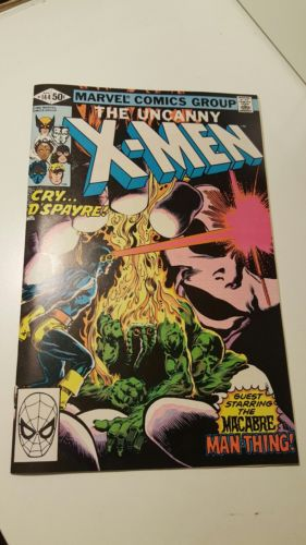 THE UNCANNY X-MEN #144.     ~FEATURING THE MAN-THING~   (BV $16.00)  (9.2  COPY)