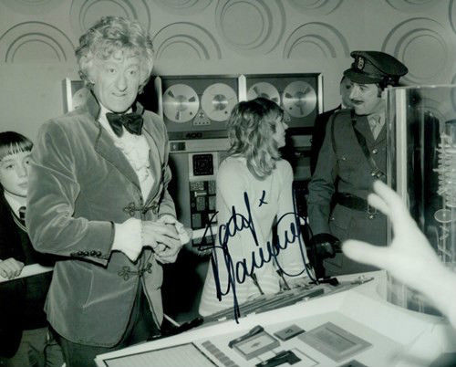 Doctor Who Katy Manning Signed 8x10 Autograph Photo Dr Who