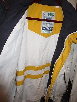 London Fog All Weather Zip Front Jacket with Tuckaway Hood Mens XL Long