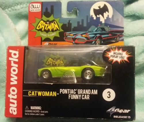 CATWOMAN  AUTOWORLD  PONTIAC GRAND AM FUNNY CAR  BRAND NEW