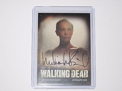 Season 2 The Walking Dead Autograph Card - A6 Melissa McBride (Carol)