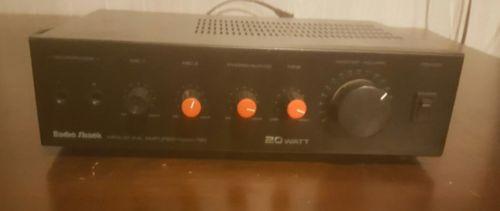 RadioShack MPA-40 20 Watt PA System Amplifier
