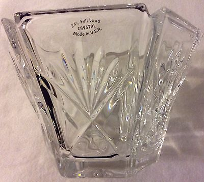 Gorham Six Sided 24% Crystal Bowl 3.5