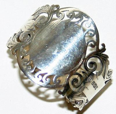 1913 English Sterling Napkin Ring, Cooper Bros. & Sons, Antique