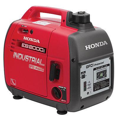 1600/2000watt Honda Generator 2 98.5cc GX100 HHG-EB2000i-SD
