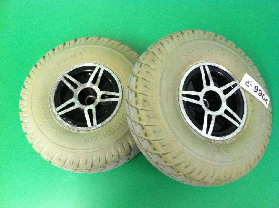 Wheels & Tires for Pride Jet 3  Power wheelchair #9904