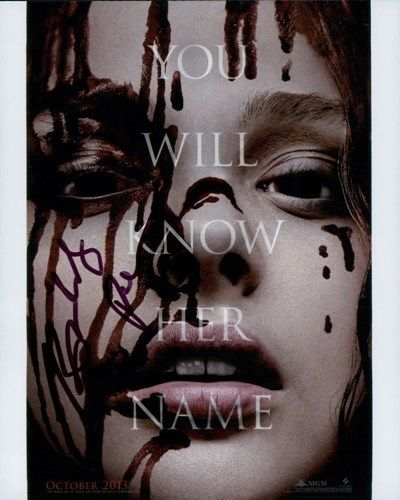 Carrie remake Director Kimberly Peirce Signed Autograph 8x10 Photo