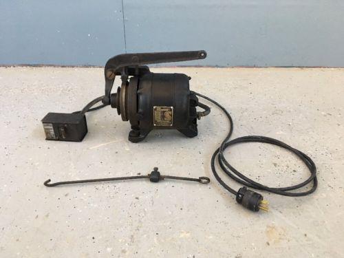 Vintage Antique Singer Sewing Machine 1/4 HP Clutch Motor