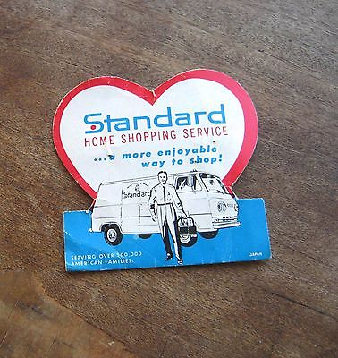 Deliveryman Graphic Standard Home Shopping Service Needle Book + Safeway Needles