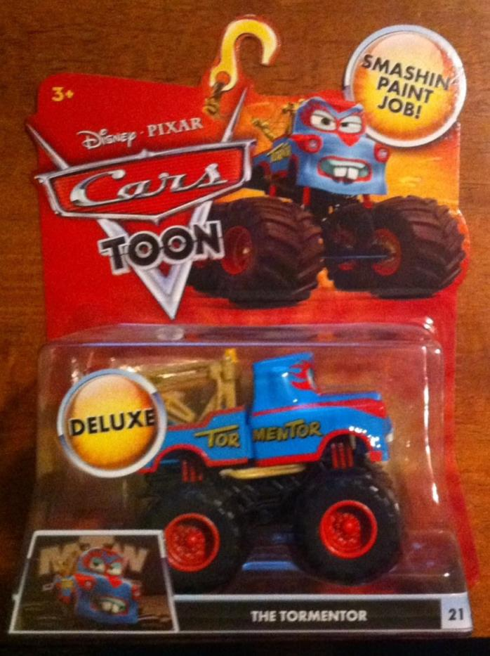 Disney Pixar Cars TORMENTOR Monster Truck TOON #21 BNIP!