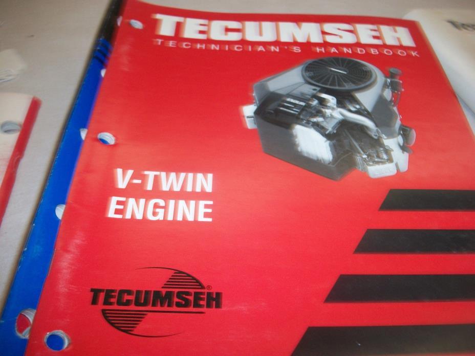 TECUMSEH REPAIR BOOK  V-TWIN ENGINES