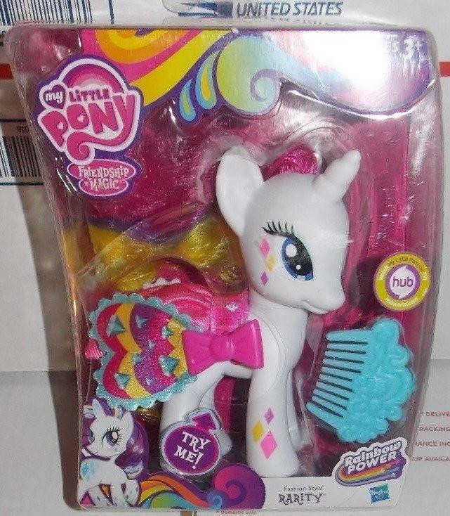 My Little Pony Friends Magic Fashion Style Rarity Rainbow Power 5 1/2