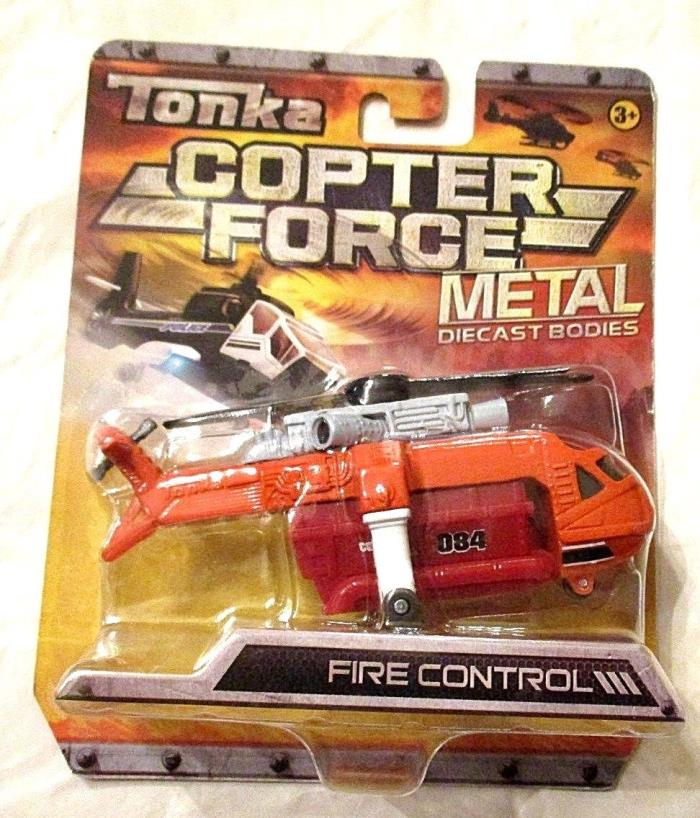 NIP TONKA DIE CAST COPTOR FORCE FIRE CONTROL III HELICOPTER