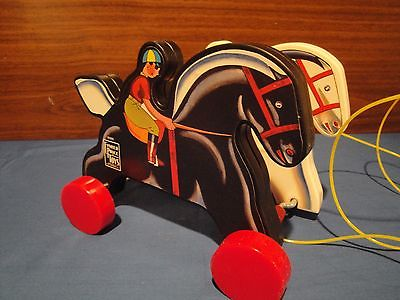 Fisher Price Prancing Horses pull toy