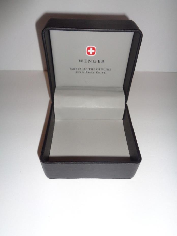 Rare Wenger Swiss Army Knife Watch Box ONLY in Great Condition Sent Double Boxed