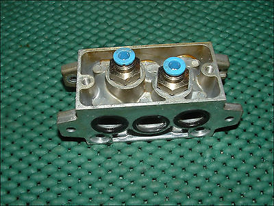 VDMA-24-345-C-1 FESTO ELECTRIC PNEUMATIC MANIFOLD ALUMINUM