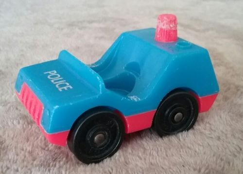 vintage fisher price little people police car