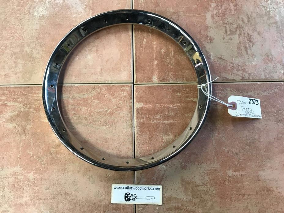 #2373 Gretsch G9400 Broadkaster Banjo Pot & Ring Set OEM Repair Part Project CBG