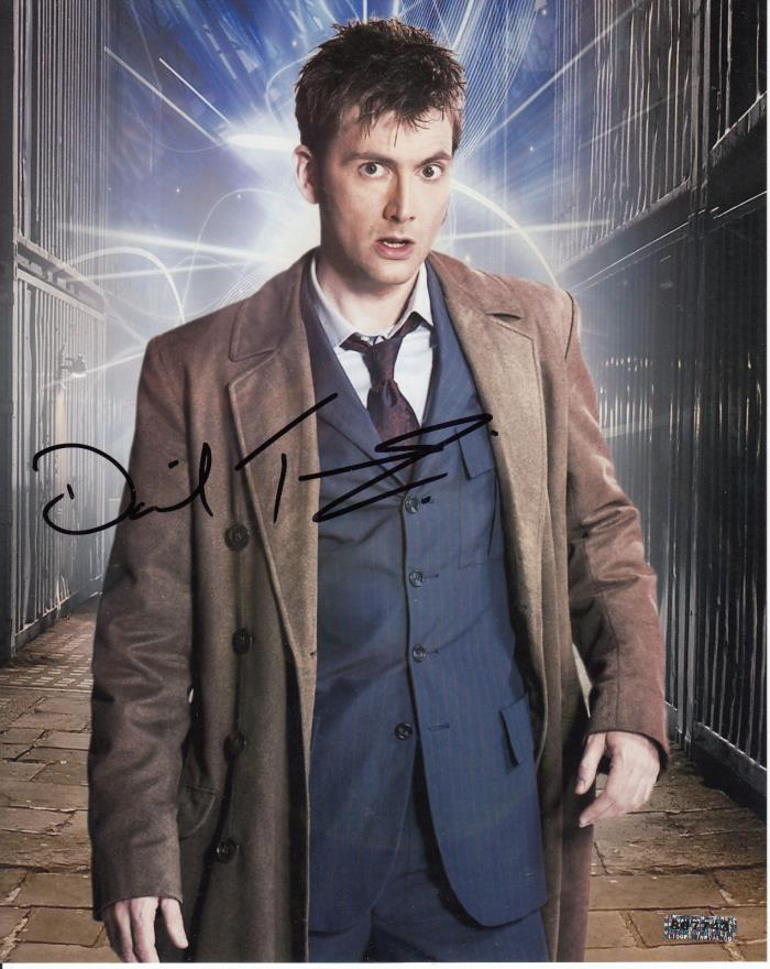 Doctor Who David Tennant Signed Auto Autograph 8x10 Photo