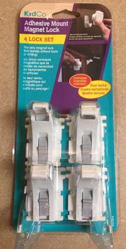 KidCo Adhesive Mount Magnet 4-Lock Set