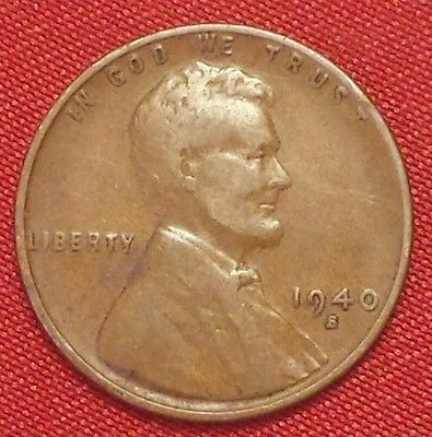 1940S US LINCOLN WHEAT PENNY  #0227