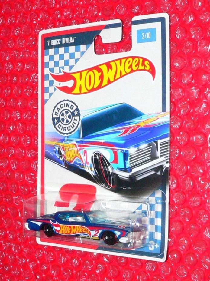 2017 Hot Wheels  '71 BUICK RIVIERA  #2 RACING CIRCUIT DWC52-0910