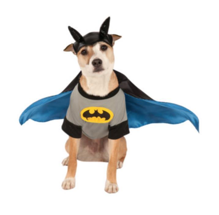 DC Comics Batman Pet Dog Cat Superhero Halloween Costume NWT Small