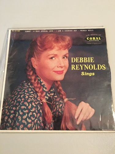 Debbie Reynolds Record Jacket  DEBBIE REYNOLDS SINGS (Includes